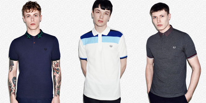 Polo Fred Perry Nera