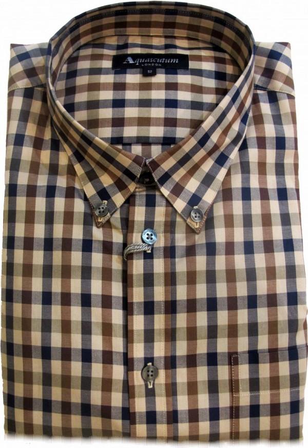Camicia Aquascutum Clubcheck Abbigliamento Negozio Roma