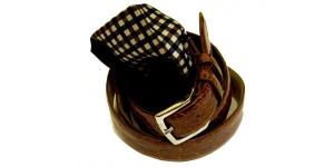 cintura e pochette aquascutum of london