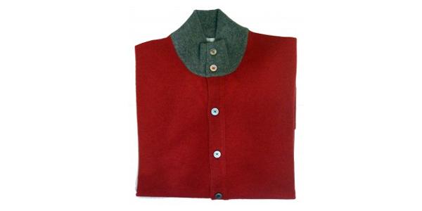 Pullover Della Ciana Cashmere Corallo Abbigliamento Negozio Roma