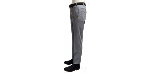 pantalone flanella uomo grigio henri lloyd