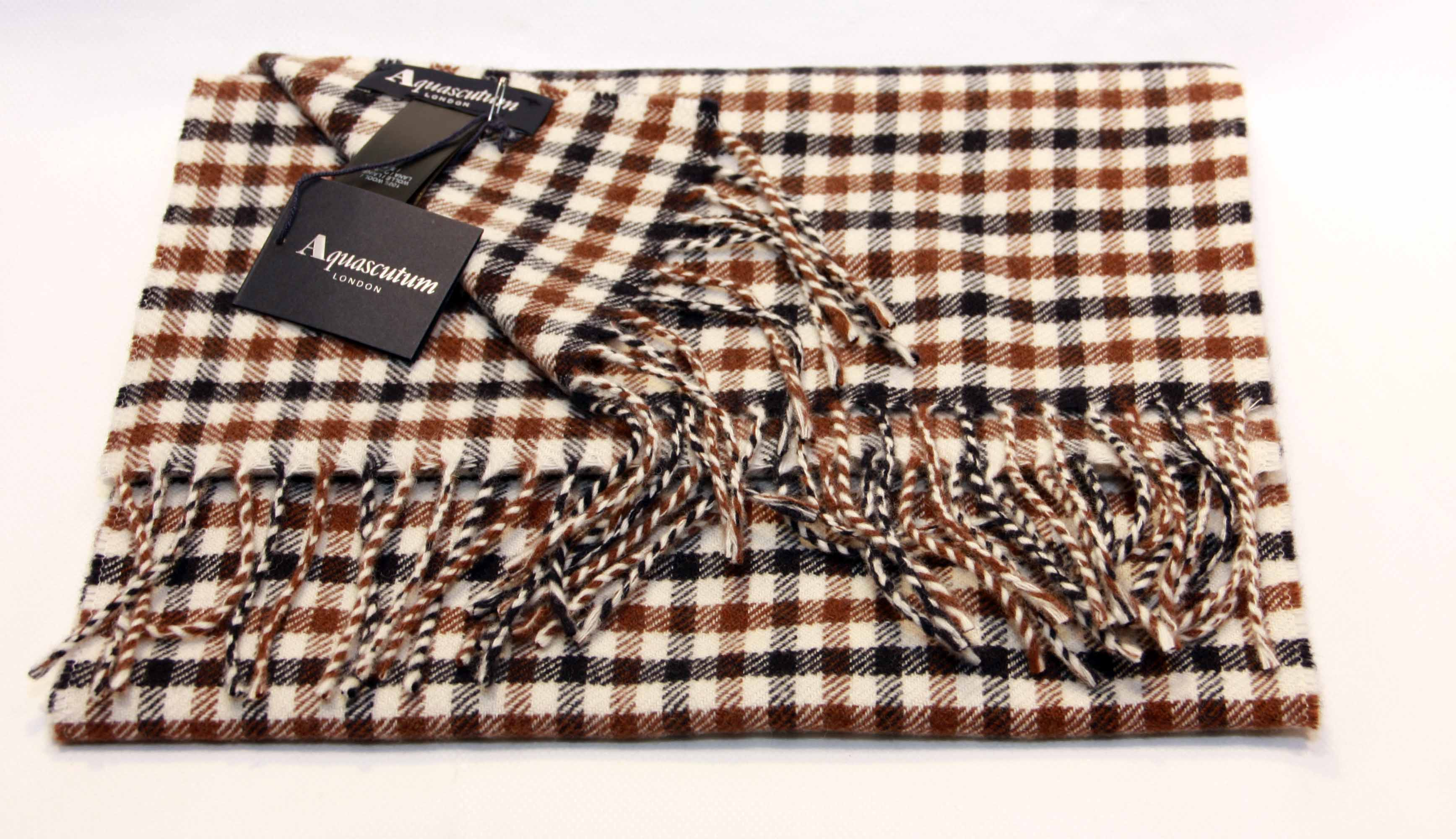 Sciarpa Aquascutum Of London New Club Check Shop Online