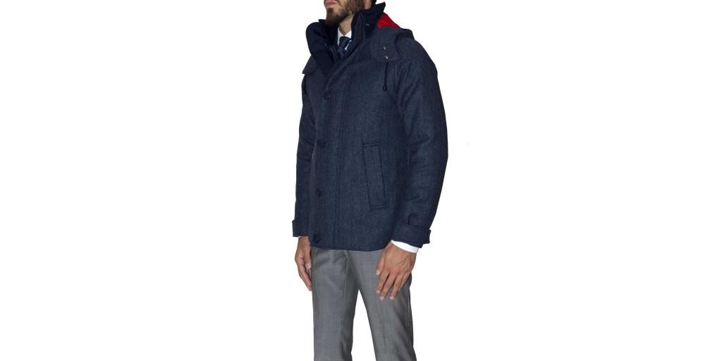 consort jacket henri lloyd lato blu lana