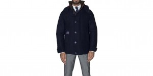 consort jacket henri lloyd fronte nero