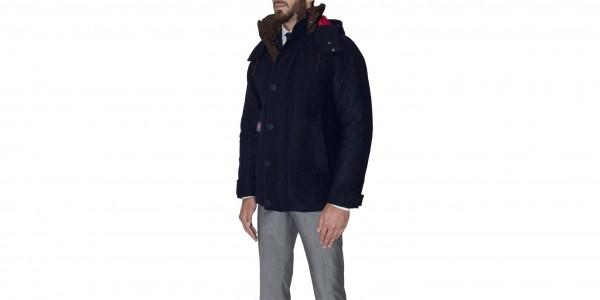consort jacket henri lloyd side nero