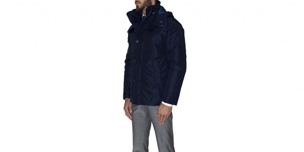 consort jacket henri lloyd lato blu scuro