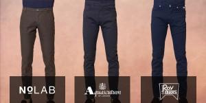 pantaloni stretti uomo fronte