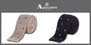 cravatte Aquascutum maglina
