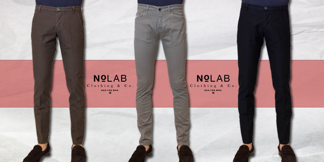 pantaloni nolab chinos