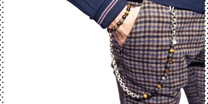 Bracciali e Catene da Pantalone Gerba