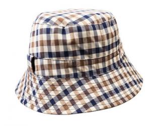 cappello pescatore aquascutum club check