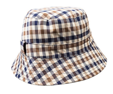 cappello pescatore aquascutum club check