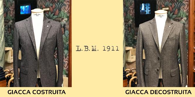 giacca lbm 1911 costruita e decostruita
