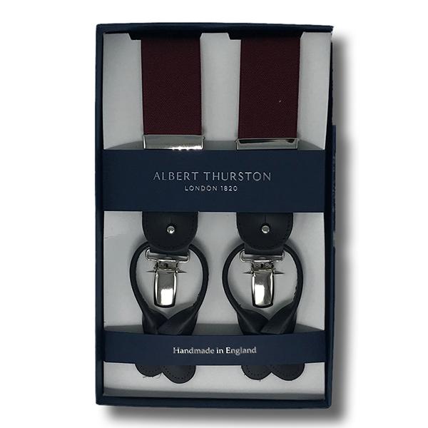 Nuova Collezione Bretelle Albert Thurston 2019
