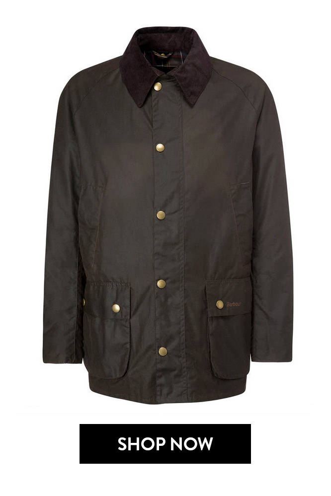 Giubbotto Ashby Verde barbour roma