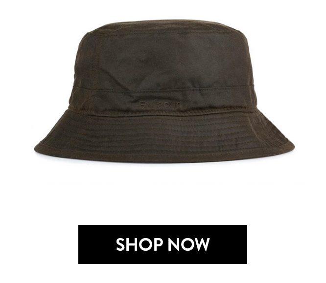 barbour cappello pescatore verde roma
