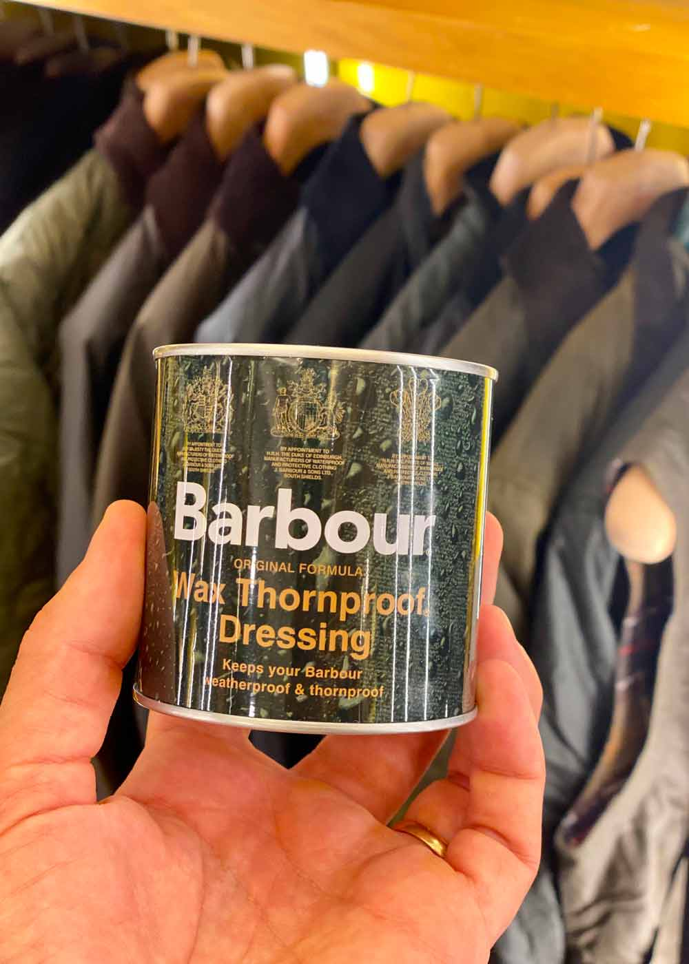 Come pulire un Giubbotto Barbour Cerato