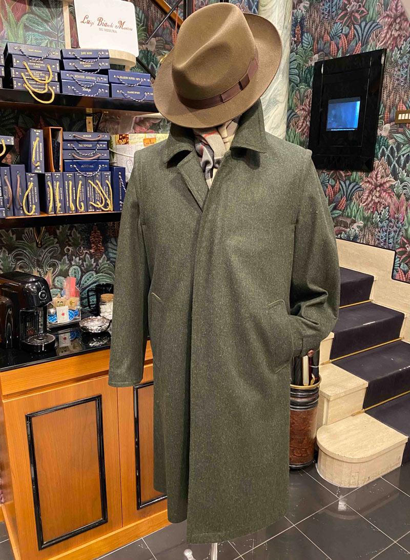 Cappotto Loden a Roma